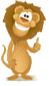 Lion Thumbs Up