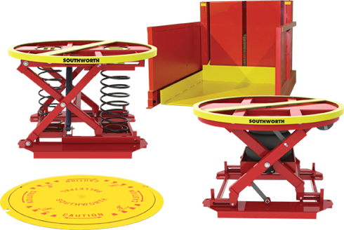 Southworth products parts ergonomic lift tables available palletpal greentooth Choice Image
